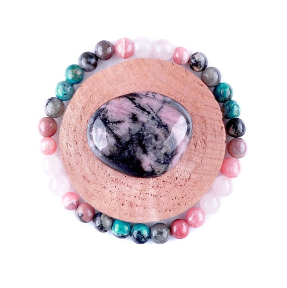 LOVE, Gemstone Bracelet