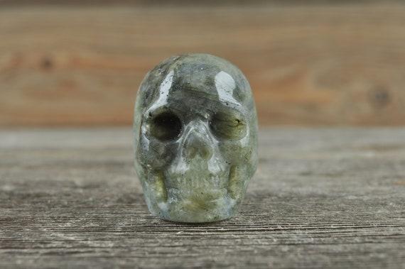 Labradorite Crystal Skull!