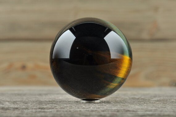 Blue Tiger Eye Sphere, 1.5 inches!