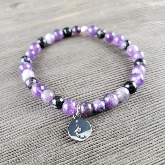 Second SIght (Third Eye) Chakra, Gemstone Bracelet