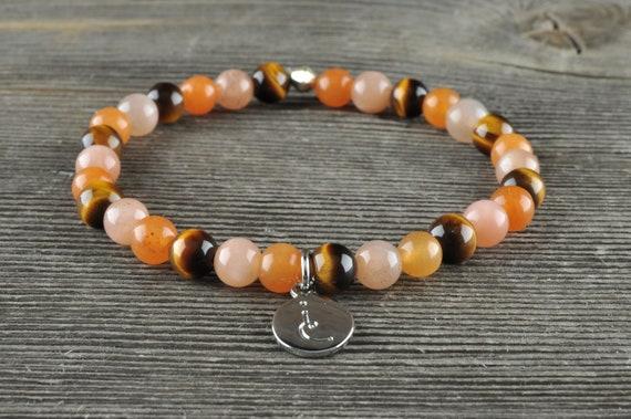 Sacral Chakra, Gemstone Bracelet