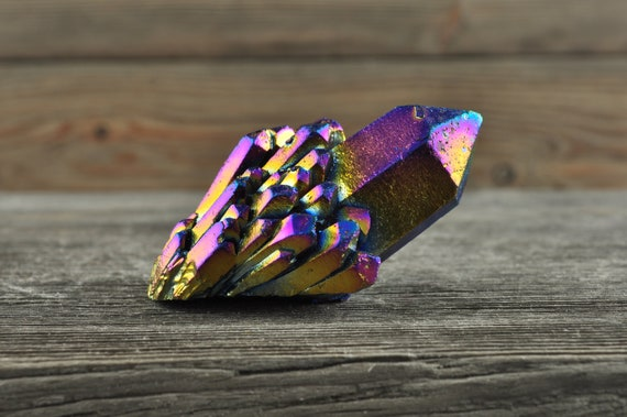 Beautiful Titanium Aura Quartz!