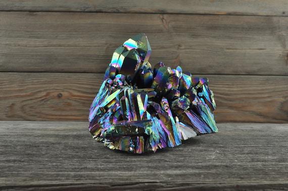 Beautiful Titanium Aura Quartz!