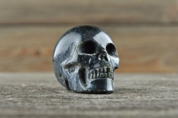 Nephrite Jade Crystal Skull! WOUNDED WARRIOR