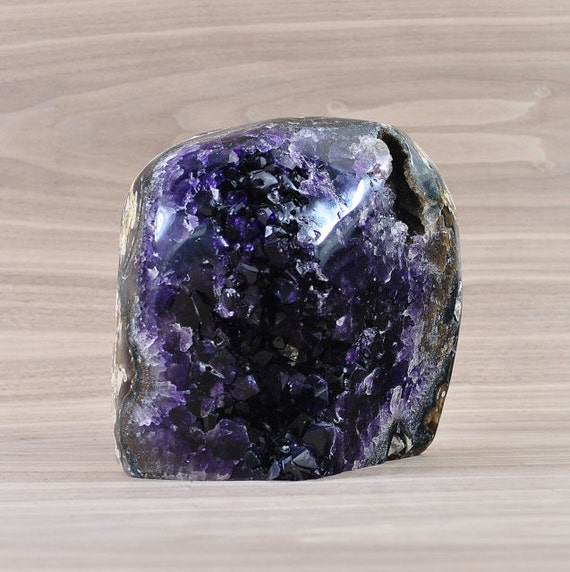 AA Quality, Unique Uruguayan Polished Amethyst Cluster! PL1-033