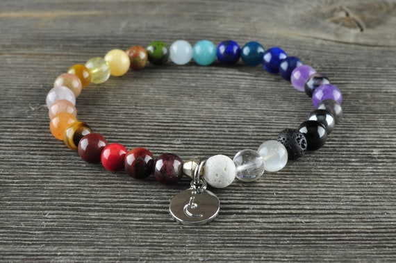Chakra Balancer, Gemstone Bracelet