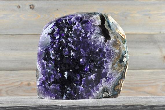 Polished Uruguayan Amethyst Geode PL1-033!