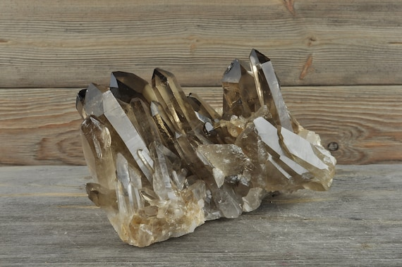 Beautiful High Quality Smokey Quartz Cluster