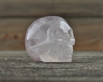 Green Fluorite Crystal Skull! Halloween Decor, Skull Decor, Gothic Home Decor, Memento Mori, Goth Decor, Crystal Decor