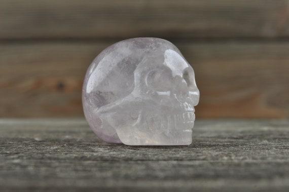 Green Fluorite Crystal Skull!