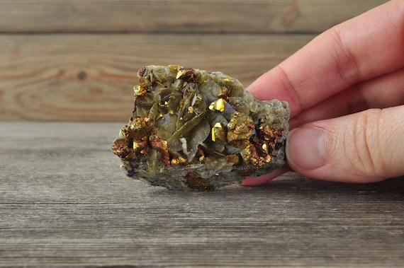 Beautiful Chalcopyrite w Siderite Cluster!