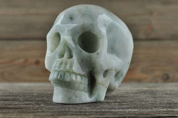 Beautiful Amazonite Crystal Skull! Medium