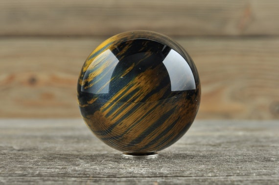 Blue Tiger Eye Sphere, 1.25 inches!