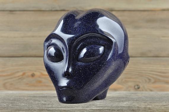Blue Sandstone Crystal Alien Starbeing!