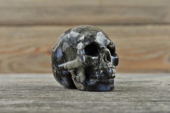 Natural Llanite Crystal Skull, Mini