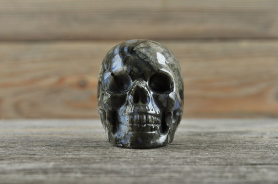 Natural Llanite Crystal Skull, Mini