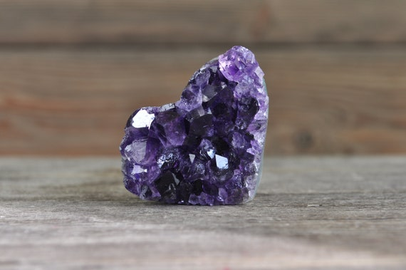 Beautiful, A Quality, Amethyst Heart