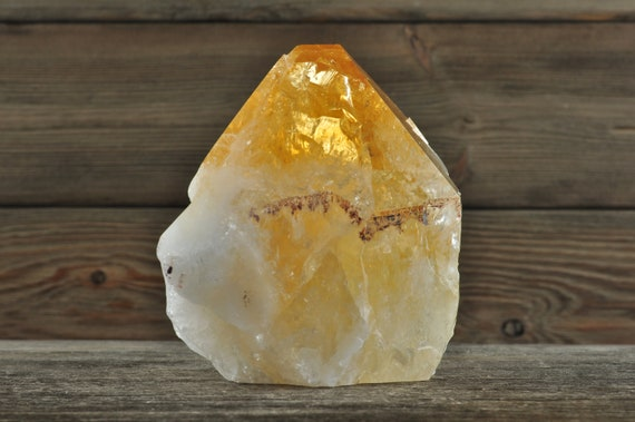 Beautiful Citrine Cluster Point!
