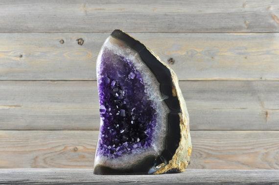 Polished Uruguayan Amethyst Geode PL2-027!