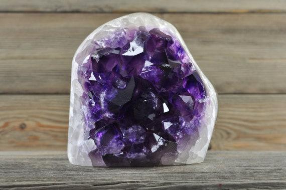 Polished Uruguayan Amethyst Geode PL2-046