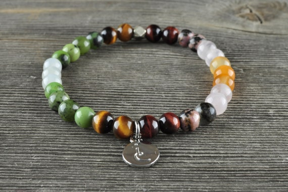 Fertility + Feminine Health, Gemstone Bracelet