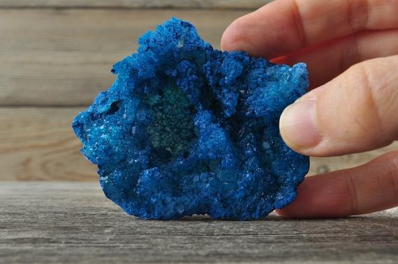 Blue Moroccan Druzy Geodes