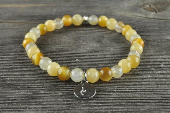 Solar Plexus Chakra, Gemstone Bracelet