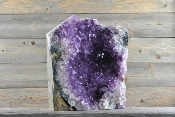 Beautiful, Quality, Rough Uruguayan Amethyst Cluster RG4-012