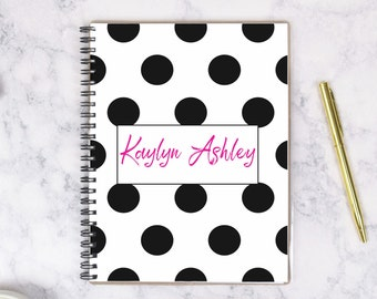 Custom Spiral Notebook, Custom Notebook Journal Personalized, Journals and Notebooks Personalized, Journals for Women Writing Journal