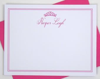 Notecards Personalized Kids Stationery for Girls, Stationery Personalized Kids Notecards, Personalized Childrens Stationary Sets for Girls