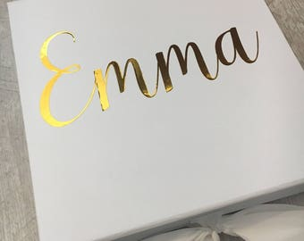 Luxury Bridesmaid Gift Box - will you be my bridesmaid - bridesmaid proposal