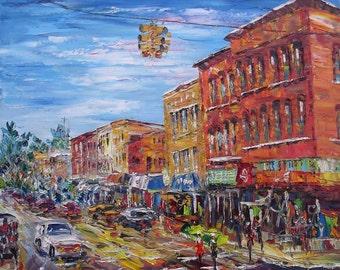 MAIN STREET, Niles, Michigan-Pen King-113
