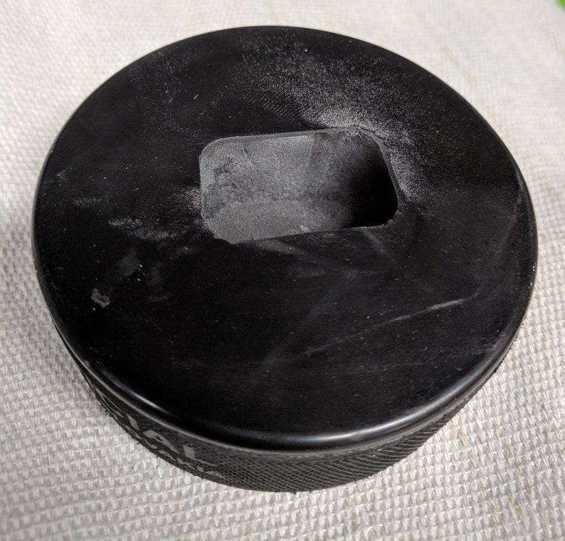 Puck Feet for Hockey Stick Bench Set of 4 image 1