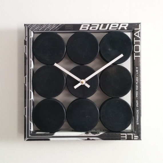 Hockey Puck Clock