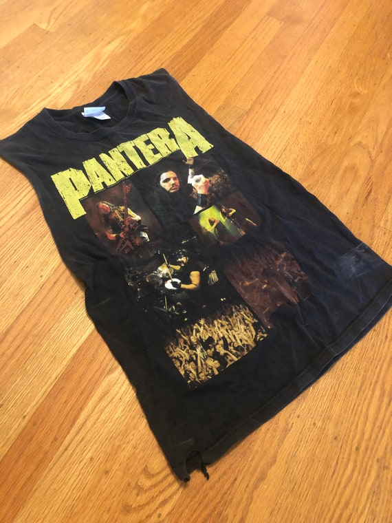 Vintage faded Pantera muscle tee