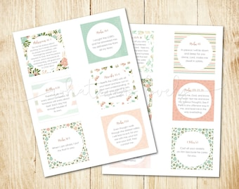 Anxiety Bible Verse Printable Cards