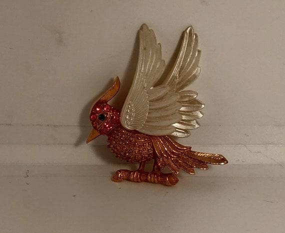1950s/60s Vintage Bird Brooch