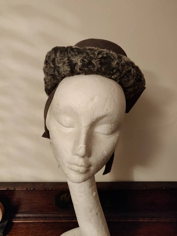 1930s/40s Vintage Breton Hat