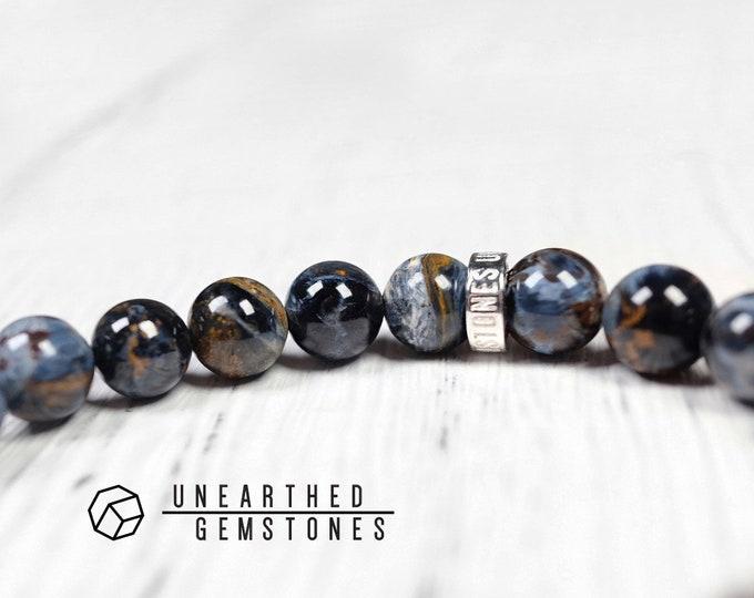 Blue Pietersite Bracelet