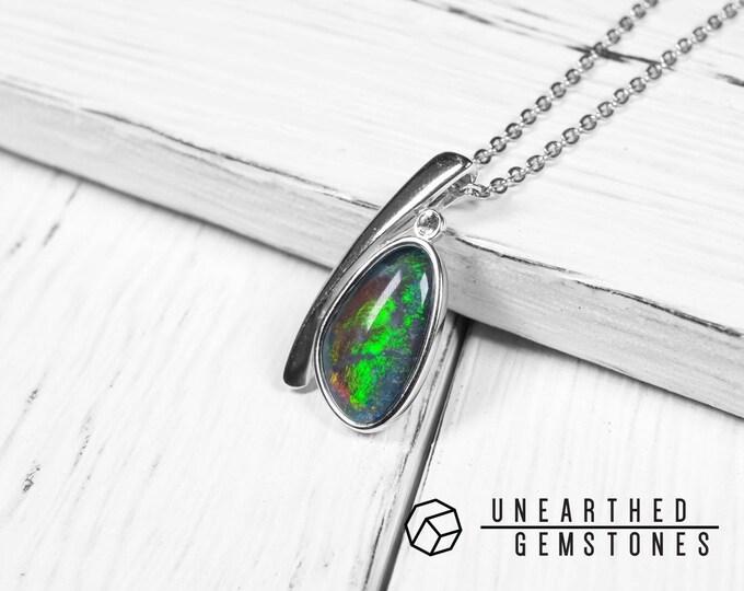 Opal Necklace 17sep02