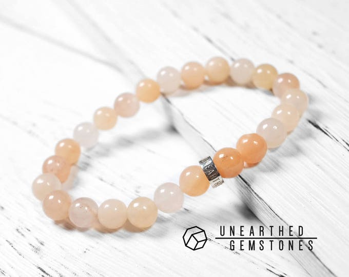 Light Orange Aventurine Bracelet