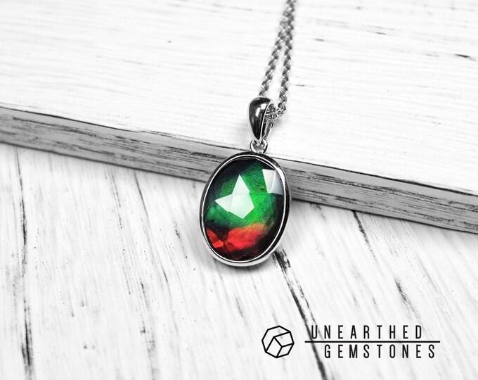 Natural Ammolite Necklace