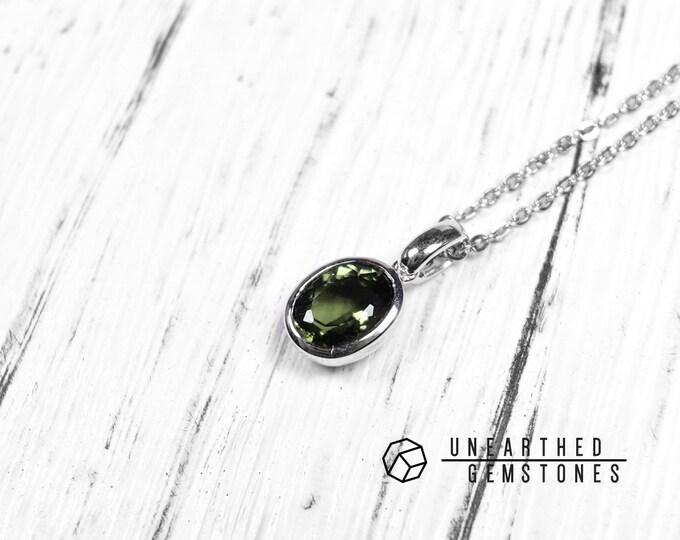 Genuine Moldavite Necklace