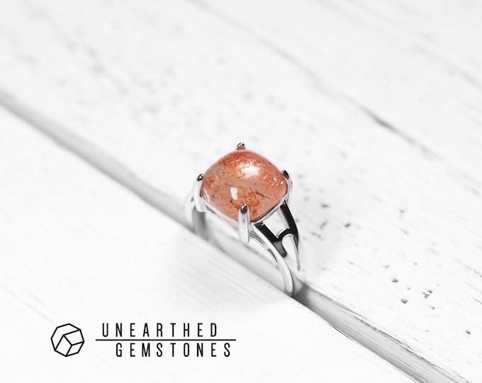 Size 7 Sunstone Ring
