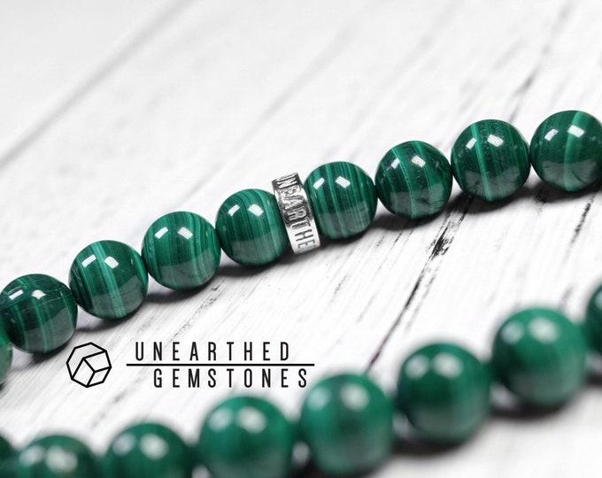 AAA Natural Malachite Bracelet