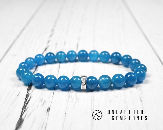 AAA Blue Apatite Bracelet