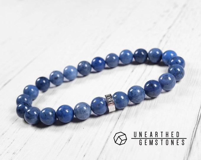Denim Blue Dumortierite Bracelet