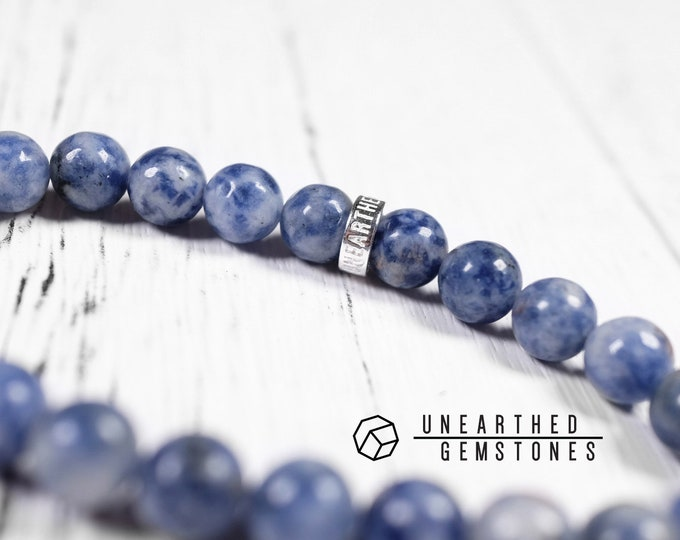 Blue Spot Jasper Bracelet