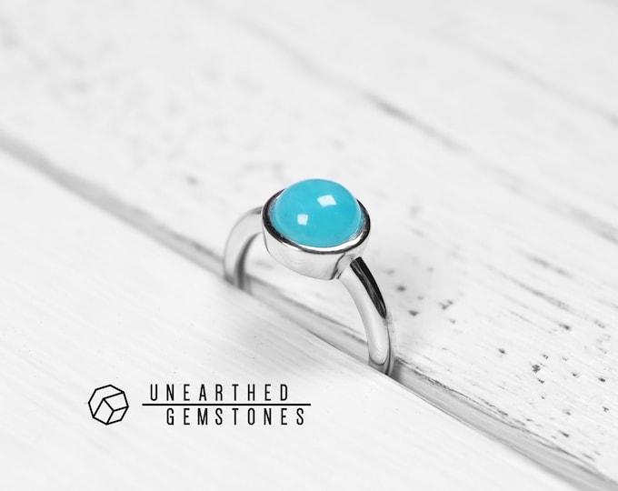 Amazonite Ring US Size 7