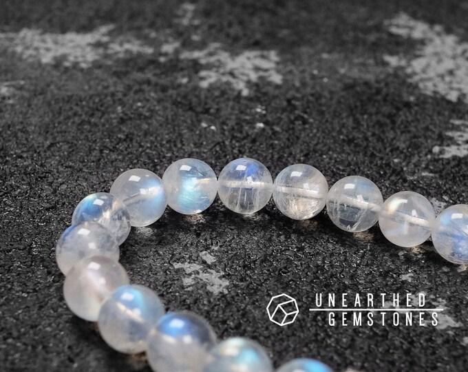 AAA Rainbow Moonstone Bracelet